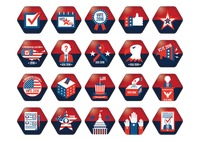 Popular : American presidential election icons