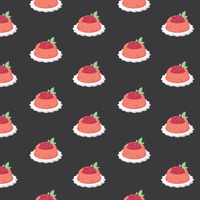 Popular : Background with fruit pudding