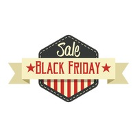 Popular : Black friday sale label
