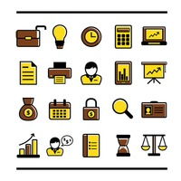 Popular : Business icons set