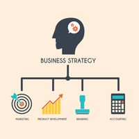 Popular : Business strategy concept