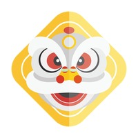 Popular : Chinese new year lion head design