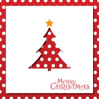 Popular : Christmas tree card design