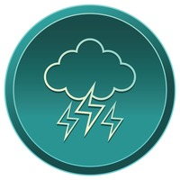 Popular : Cloud with lightning