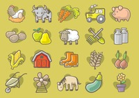 Popular : Collection of agriculture elements