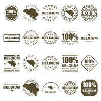 Popular : Collection of belgium labels