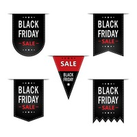 Popular : Collection of black friday sale bookmarks
