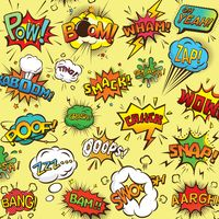 Collection of comic bubbles