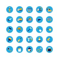 Collection of construction icons