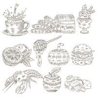 Popular : Collection of food