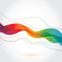 Colorful lines design