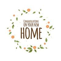 Congrats New House background backgrounds celebration celebrations typography