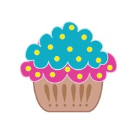 Popular : Cupcake isolated over white background
