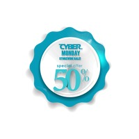 Popular : Cyber monday sale sticker