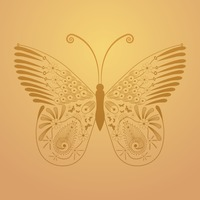Popular : Decorative butterfly