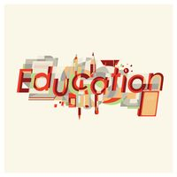 Popular : Education lettering design