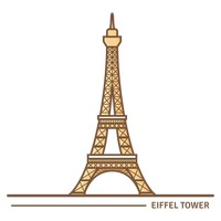 Popular : Eiffel tower