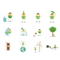Popular : Environment conservation and recycling concept