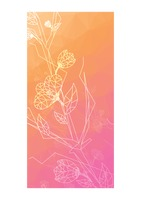 Popular : Faceted floral background