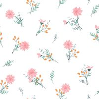 Floral Background Vector Image 1266712 Stockunlimited