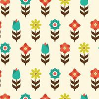 Popular : Floral pattern background design