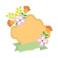 Popular : Flower label