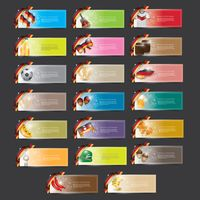 Popular : Germany vector banner collection
