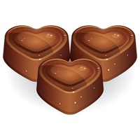 Popular : Heart shape chocolate