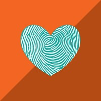 Popular : Heart with thumbprint effect