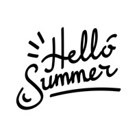 Design Designs Typography Holiday Holidays Hot Summer Text Texts