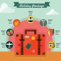 Holiday package infographic