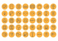 Popular : Home appliance icons