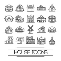 House icons