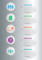 Infographic of business concept