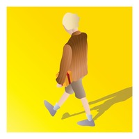 Popular : Isometric of a boy