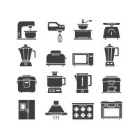 Kitchen tools icons