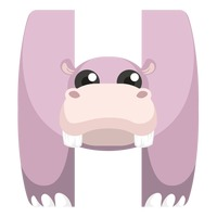 alphabet alphabets cartoon cute adorable animal theme letter