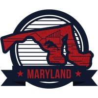 Popular : Map of maryland state