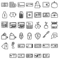 Popular : Money icons