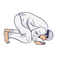Muslim man praying Vector Image - 1996569 | StockUnlimited
