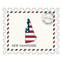 New hampshire postage stamp