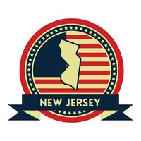 New jersey map label