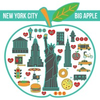 Popular : New york city in apple