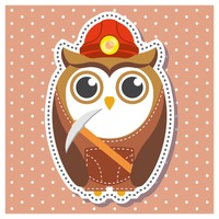 Popular : Owl as a miner