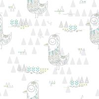 Popular : Seamless bird design
