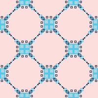 Seamless fabric pattern