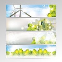 Popular : Set of banner designs