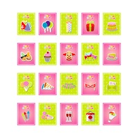 Popular : Set of birthday cards