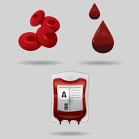 Popular : Set of blood icons