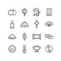 Popular : Set of chinese new year icons